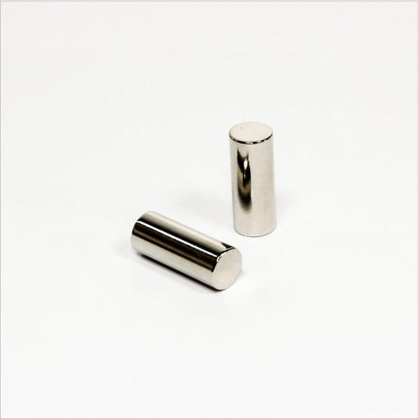 D10x25mm - N42 NdFeB Stab Magnet - NiCuNi