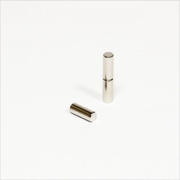 D4x10mm - N45 NdFeB Stab Magnet - NiCuNi