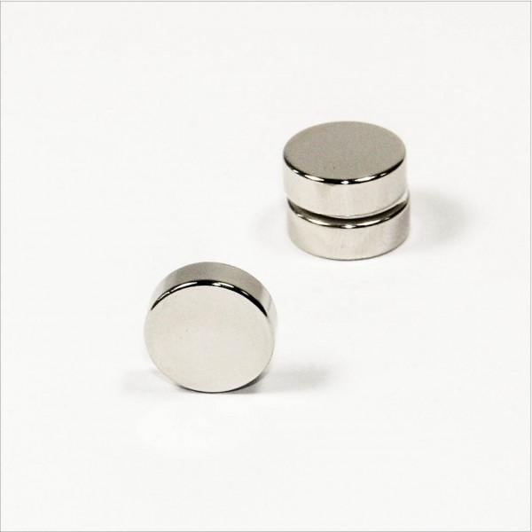 D15x5mm - N42 NdFeB Scheiben Magnet - NiCuNi