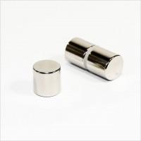 D12x12mm - N45 NdFeB Scheiben Magnet - NiCuNi