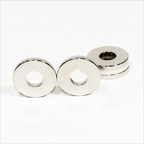D30-d12x4mm - N42 NdFeB Ring Magnet - NiCuNi