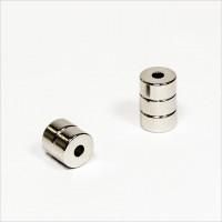 D10-d3,2x5mm - N42 NdFeB Ring Magnet - NiCuNi