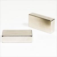 40x20x10mm - N42 NdFeB Quader Magnet - NiCuNi