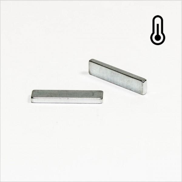 20x4,5x1,8mm - 45SH NdFeB Quader Magnet - Zink