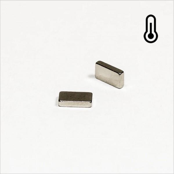 5,5x3x1,2mm - 45SH NdFeB Quader Magnet - NiCuNi