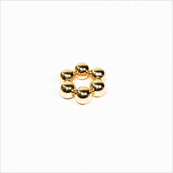 D5mm - N40 NdFeB Kugel Magnet - Gold