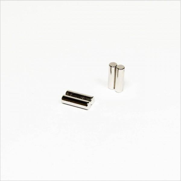 D3x10mm - N45 NdFeB Stab Magnet diametral - NiCuNi
