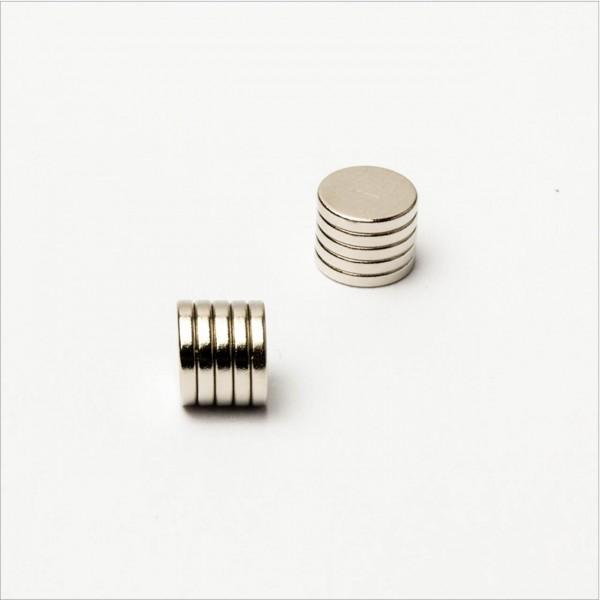 D6x1mm - N45 NdFeB Scheiben Magnet - NiCuNi