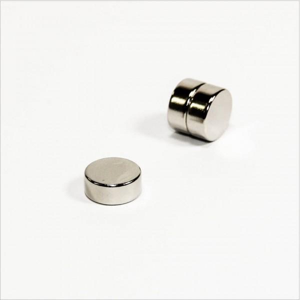 D12x5mm - N42 NdFeB Scheiben Magnet - NiCuNi