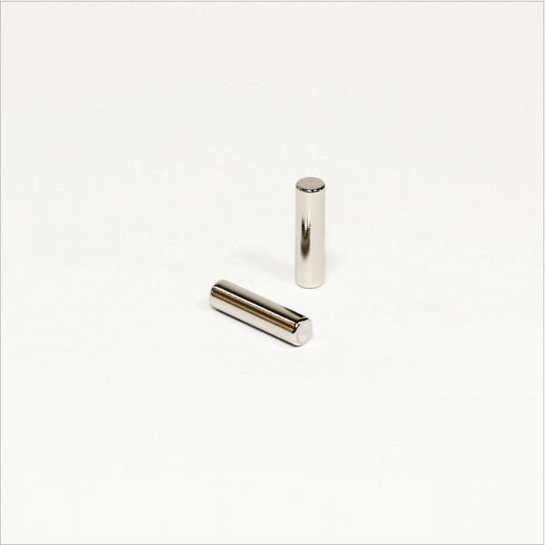 D4x15mm - N42 NdFeB Stab Magnet - NiCuNi