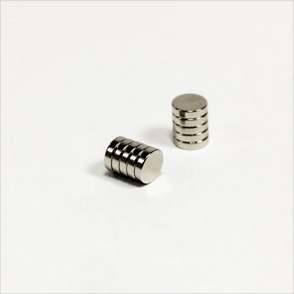 D4x1mm - N45 NdFeB Scheiben Magnet - NiCuNi