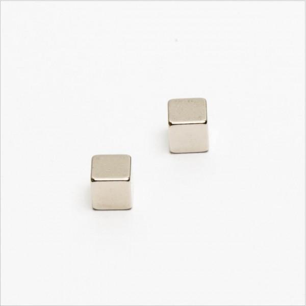 5x5x5mm - N42 NdFeB Würfel Magnet - NiCuNi