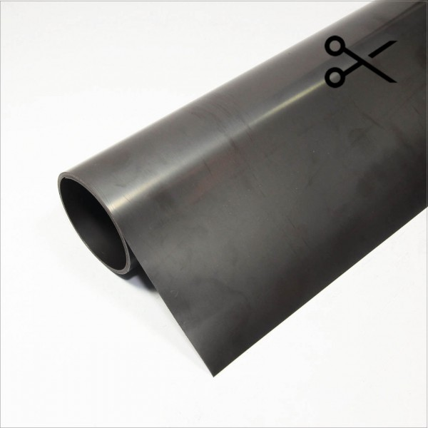 Magnetfolie 0.8mm unbeschichtet Rolle -RESTSTÜCK- 90cm