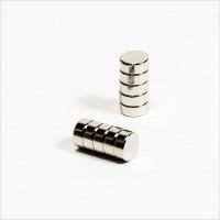 D5x2mm - N50 NdFeB Scheiben Magnet - NiCuNi