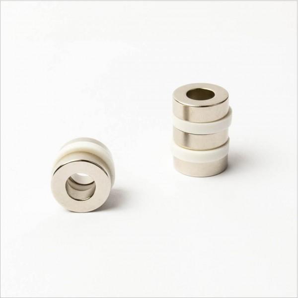 D19,1-d9,5x6,4mm - N42 NdFeB Ring Magnet - NiCuNi