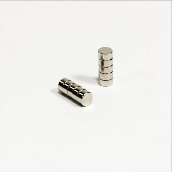 D3x1,5mm - N50 NdFeB Scheiben Magnet - NiCuNi