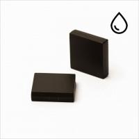 19,05x19,05x3,18mm - N35 NdFeB Quader Magnet - kunststoffummantelt/wasserfest