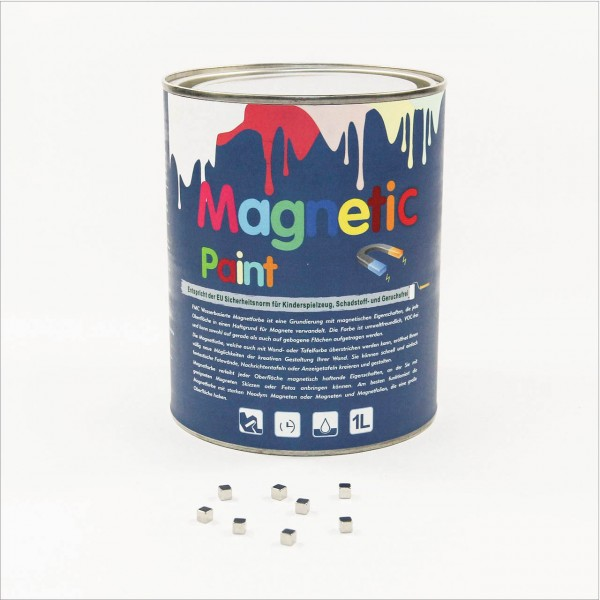 Magnetfarbe Magnetic Paint - Set 1000ml