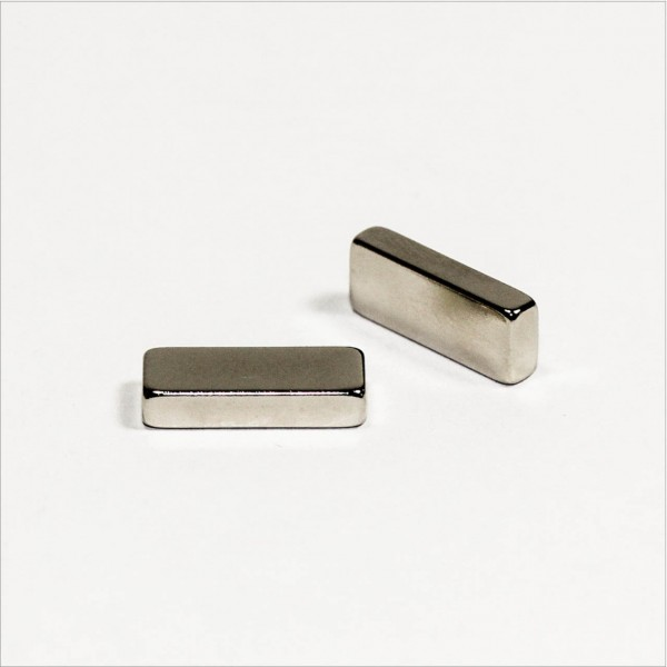 15x6x3mm - N48 NdFeB Quader Magnet - NiCuNi