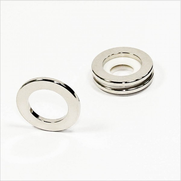 D35-d22x3mm - N52 NdFeB Ring Magnet - NiCuNi