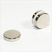 D25x5mm - N40 NdFeB Scheiben Magnet - NiCuNi