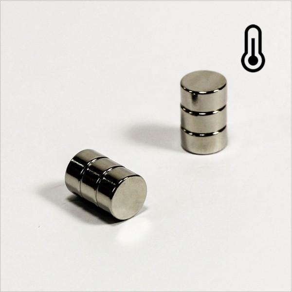 D8x4mm - 40SH NdFeB Scheiben Magnet - NiCuNi