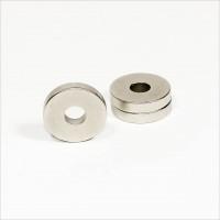 D30-d10x6mm - N42 NdFeB Ring Magnet - NiCuNi
