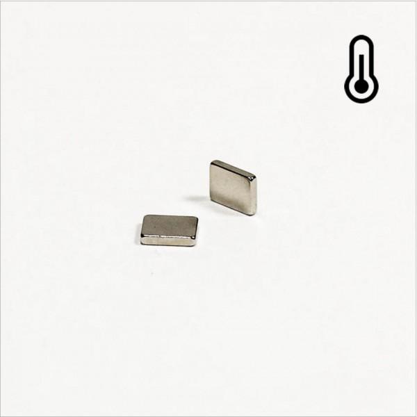 5x4x1mm - 45SH NdFeB Quader Magnet - NiCuNi