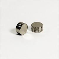 D10x1mm - N42 NdFeB Scheiben Magnet - NiCuNi