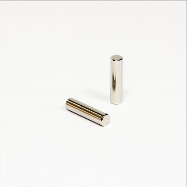 D5x20mm - N42 NdFeB Stab Magnet - NiCuNi