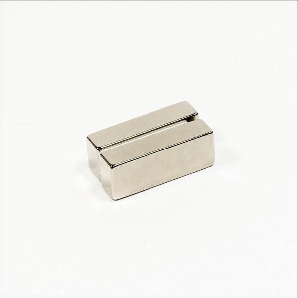 40x15x10mm - N40 NdFeB Quader Magnet - NiCuNi
