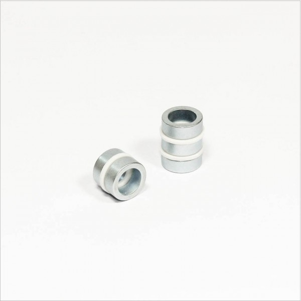 D16-d11x6mm - N48 NdFeB Ring Magnet - Zink