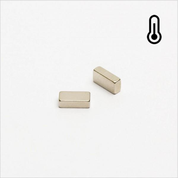 5x2,5x1,5mm - 44H NdFeB Quader Magnet - NiCuNi
