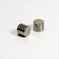 D12x2mm - N42 NdFeB Scheiben Magnet - NiCuNi