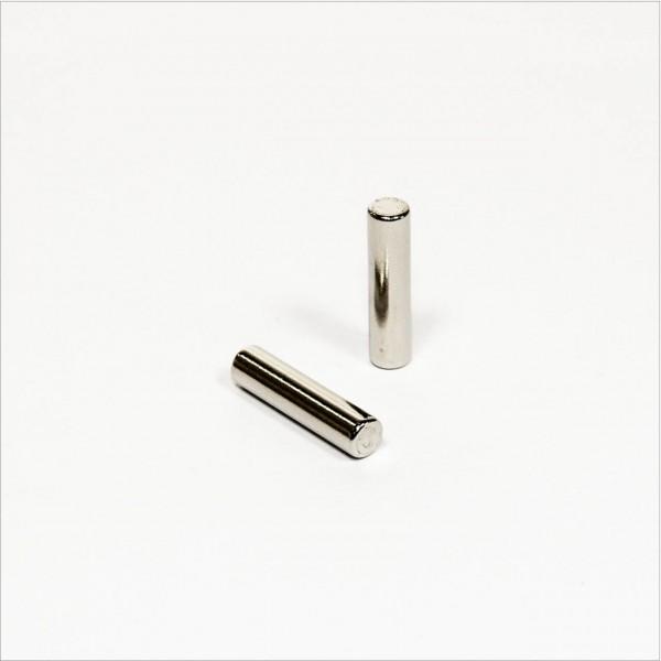 D6x25mm - N42 NdFeB Stab Magnet - NiCuNi