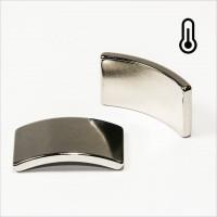 R36,5-r33x20mm 60° - 45SH NdFeB Segment Magnet S - NiCuNi