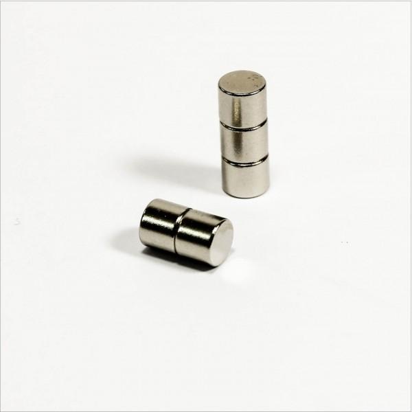 D6x5mm - N48 NdFeB Scheiben Magnet - NiCuNi