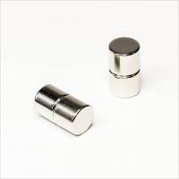 D12x10mm - N45 NdFeB Scheiben Magnet - NiCuNi