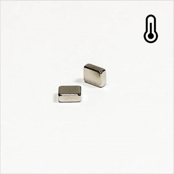 5x4x2mm - 48H NdFeB Quader Magnet - NiCuNi