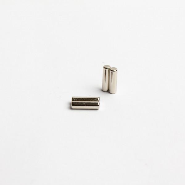 D2,9x10mm - N45 NdFeB Stab Magnet diamatral - NiCuNi