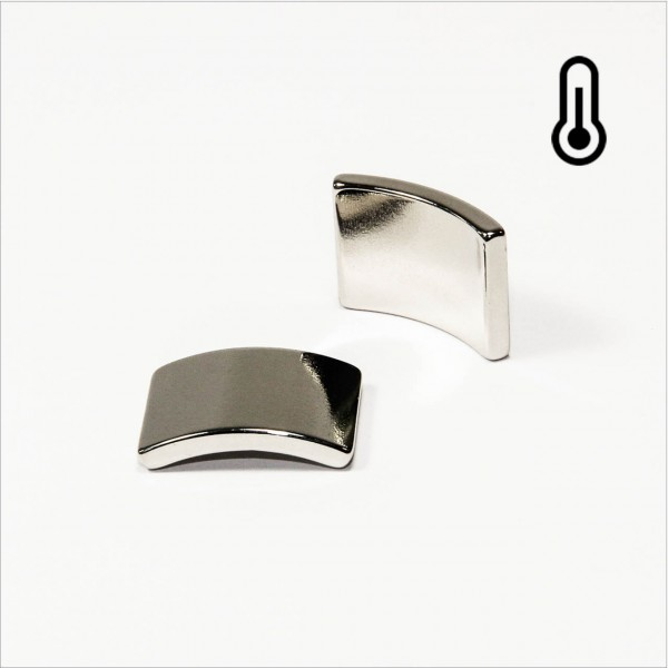 R28,5-r25x20mm 60° - 45SH NdFeB Segment Magnet N - NiCuNi