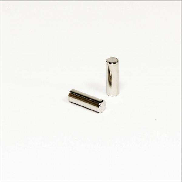 D5x15mm - N42 NdFeB Stab Magnet - NiCuNi
