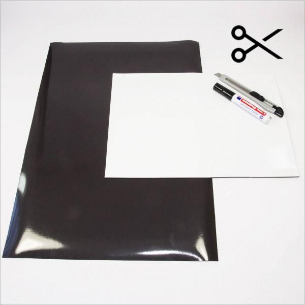Magnetfolie weiß A4/A3