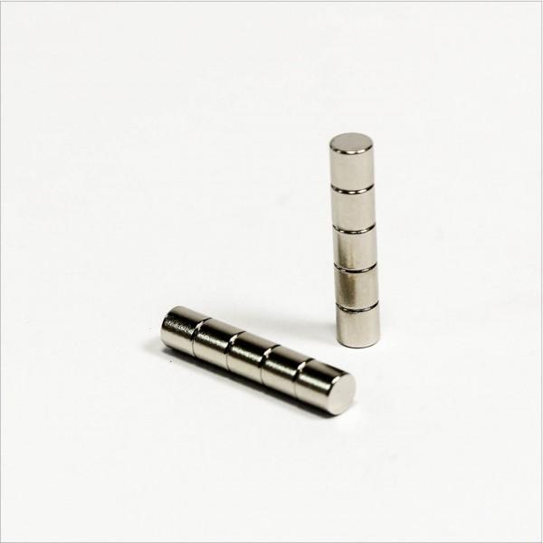 D3x3mm - N48 NdFeB Scheiben Magnet - NiCuNi