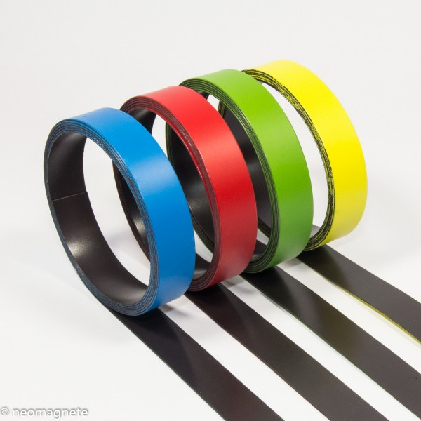 Magnetic Tape colored | Magnetic Tapes | Magnetic Sheets / Tapes ...