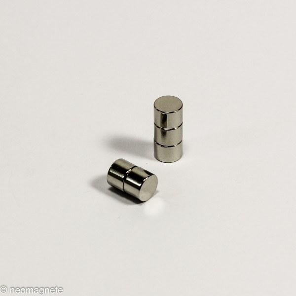 D7x5mm - N45 NdFeB Scheiben Magnet - NiCuNi