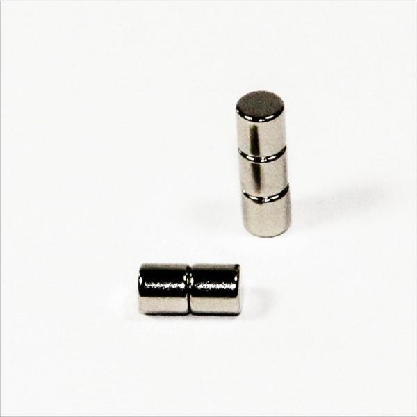 D5x5mm - N45 NdFeB Scheiben Magnet - NiCuNi