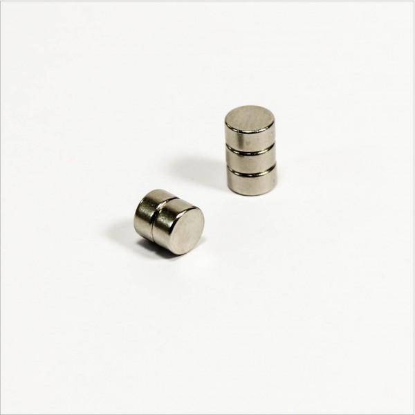D6x3mm - N45 NdFeB Scheiben Magnet - NiCuNi