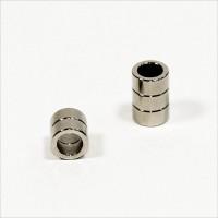 D10-d6,8x5mm - N45 NdFeB Ring Magnet - NiCuNi
