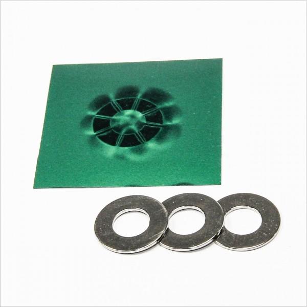 D20-d10x1mm - N52 NdFeB Ring Magnet Multipol - NiCuNi